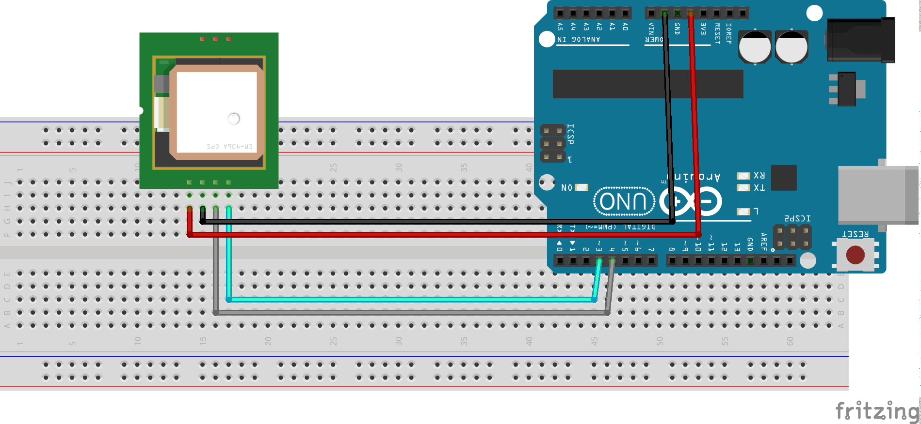 How to connect gps module arduino invent electronics